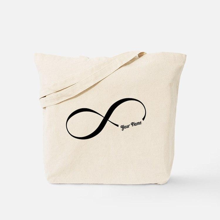 Infinity Word CUSTOM TEXT Tote Bag