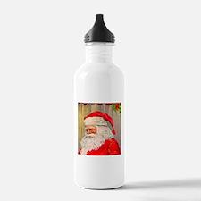 santa Claus, Vintage Water Bottle