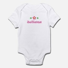 "Pink Daisy - ""Juliana"" Infant Bodysuit"