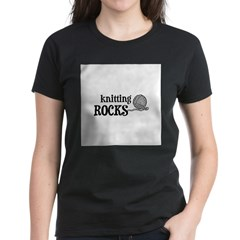 Knitting Rocks Tee