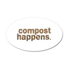 Compost Happens Wall Sticker