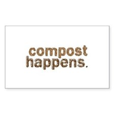 Compost Happens Decal