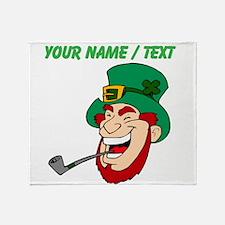 Custom Irish Leprechaun Throw Blanket