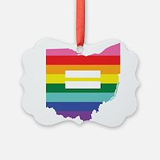 Ohio equality Ornament