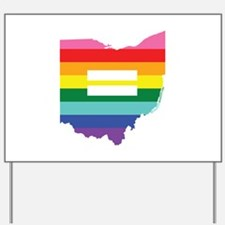 Ohio equality Yard Sign