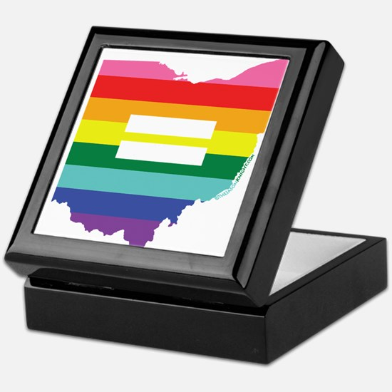 Ohio equality Keepsake Box