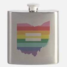 Ohio equality Flask