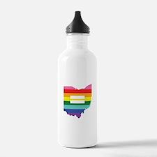 Ohio equality Water Bottle