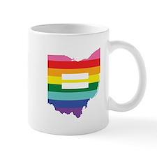 Ohio equality Mugs