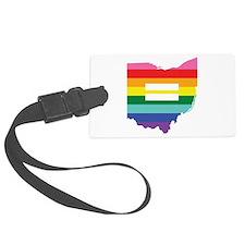 Ohio equality Luggage Tag