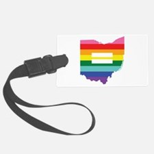 Ohio equality Luggage Tag