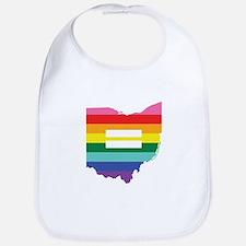 Ohio equality Bib
