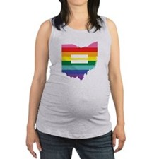 Ohio equality Maternity Tank Top