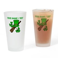 Custom Irish Shalalie Drinking Glass