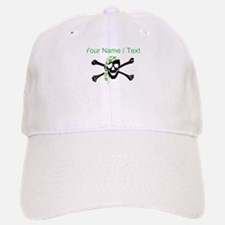 Custom Irish Pirate Skull And Crossbones Baseball