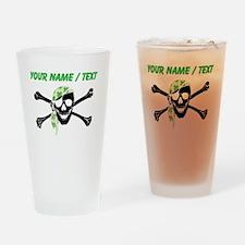Custom Irish Pirate Skull And Crossbones Drinking