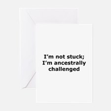 Not Stuck Greeting Cards (Pk of 10)