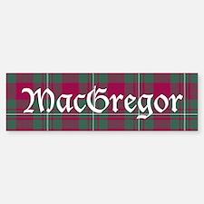 Tartan - MacGregor Bumper Bumper Sticker