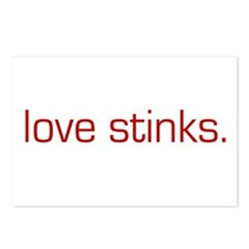 Love Stinks Postcards (Package of 8)
