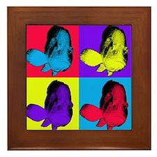 Pop Art Grouper Framed Tile
