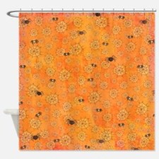 Spooky Spider Shower Curtain