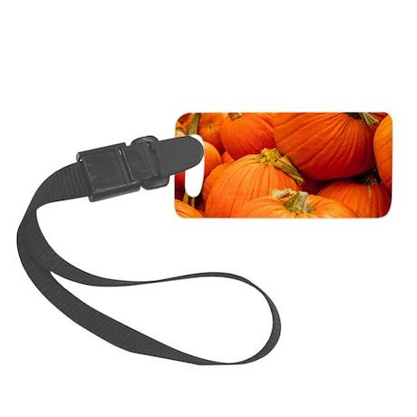 Pumpkin Passion Small Luggage Tag