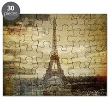 vintage eiffel tower paris Puzzle