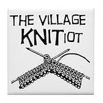 The Village KNITiot Tile Coaster
