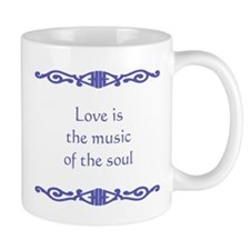 Love is the Music Mugs