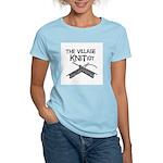 The Village KNITiot Women's Pink T-Shirt