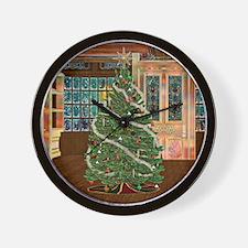 Magical Christmas Wall Clock