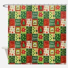 Christmas is coming Shower Curtain