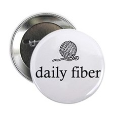 Daily Fiber - Yarn Ball Button