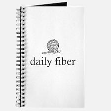 Daily Fiber - Yarn Ball Journal