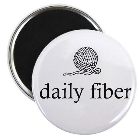 Daily Fiber - Yarn Ball Magnet