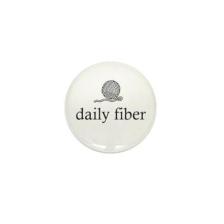 Daily Fiber - Yarn Ball Mini Button