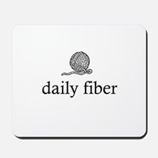 Daily Fiber - Yarn Ball Mousepad