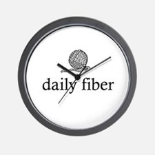 Daily Fiber - Yarn Ball Wall Clock