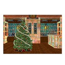 Magical Christmas Postcards (Package of 8)