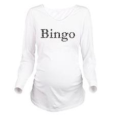 Bingo Balls Long Sleeve Maternity T-Shirt