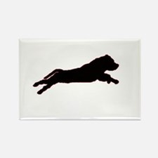Cute Staffordshire Rectangle Magnet (10 pack)