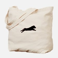 Funny Staffordshire bull terrier Tote Bag