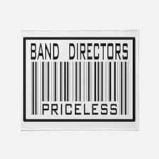 BandDirectorsPricelessT Throw Blanket