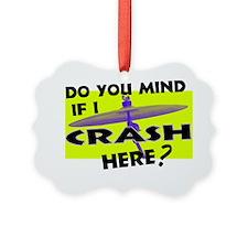 Crash Here PNG Ornament