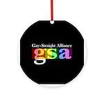 GSA Classic Black Ornament (Round)