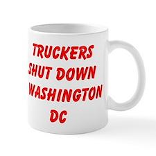 Truckers Shut Down Washington DC Mugs
