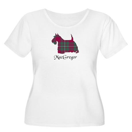 Terrier - MacGregor Women's Plus Size Scoop Neck T