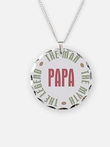 Papa Man Myth Legend French Necklace