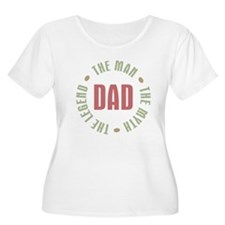 Dad Man Myth  T-Shirt