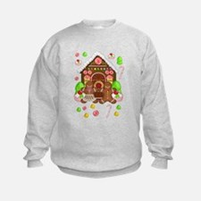 Gingerbread People & House Sweatshirt